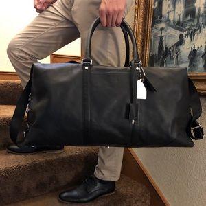 NWOT Coach Leather Transatlantic bag